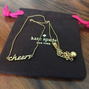 Kate Spade Cheers Necklace